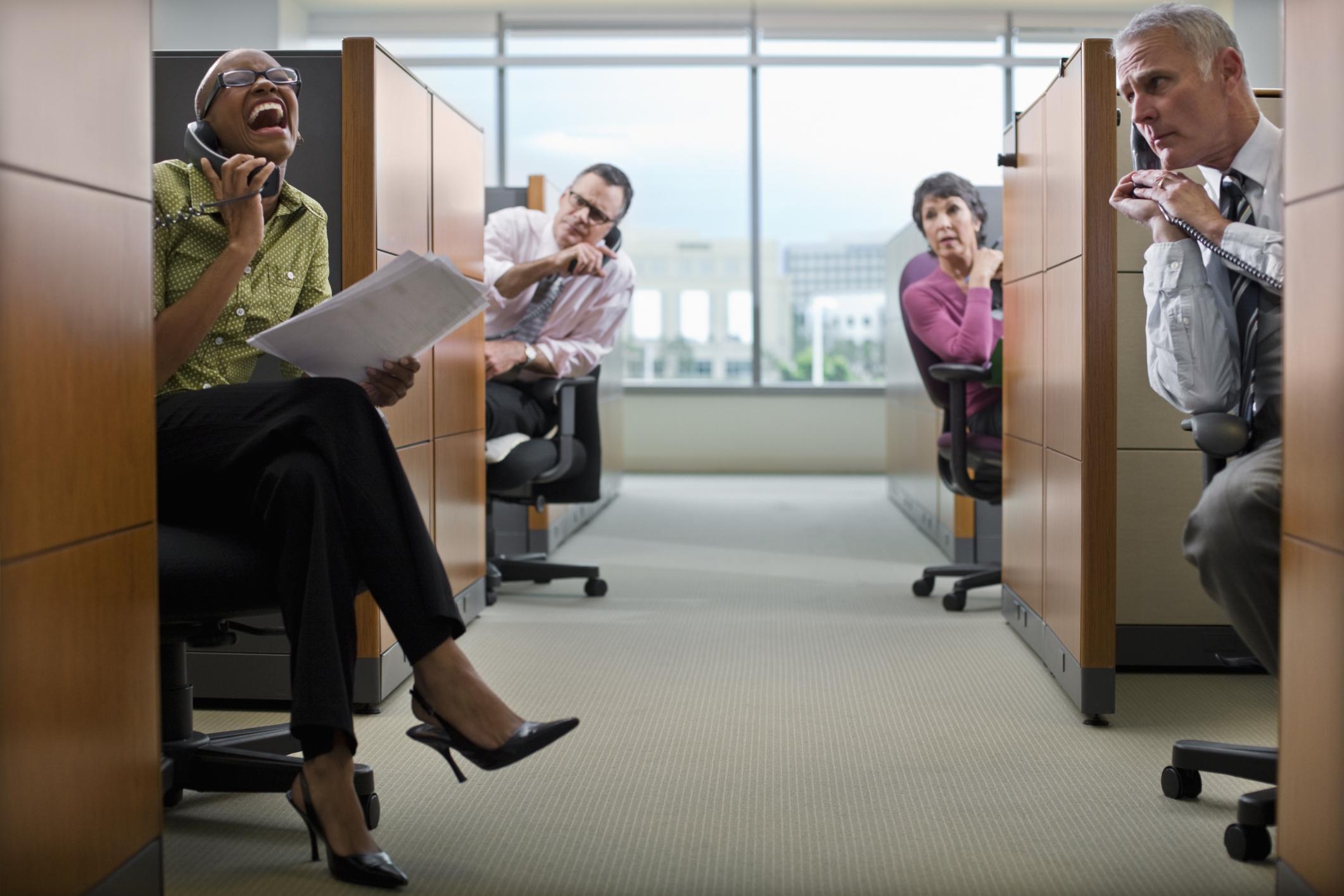 Kết quả hình ảnh cho noisy at office